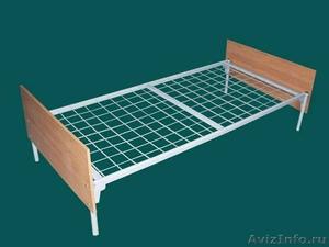 кровати с деревянными спинками одноярусные и двухъярусные для строителей - Изображение #5, Объявление #689421