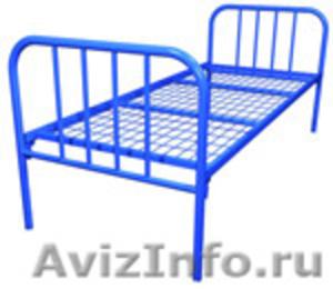кровати с деревянными спинками одноярусные и двухъярусные для строителей - Изображение #3, Объявление #689421