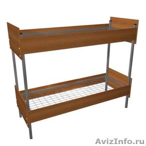 Трёхъярусные металлические кровати для общежитий, кровати металлические опт. - Изображение #1, Объявление #1478878