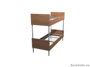 Трёхъярусные металлические кровати для общежитий, кровати металлические опт. - Изображение #3, Объявление #1478878