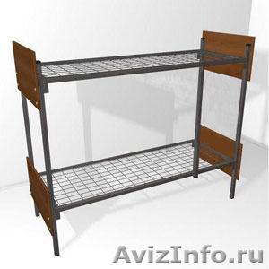 Трёхъярусные металлические кровати для общежитий, кровати металлические опт. - Изображение #5, Объявление #1478878