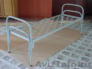 Трёхъярусные металлические кровати для общежитий, кровати металлические опт. - Изображение #4, Объявление #1478878