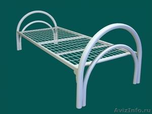 Трёхъярусные металлические кровати для общежитий, кровати металлические опт. - Изображение #2, Объявление #1478878