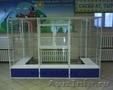 Стеклянные витрины,  прилавки. Торговое оборудование из алюминиевого профиля и лд
