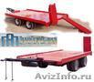 Производство и продажа прицепов для перевозки техники и монтажа оборудования