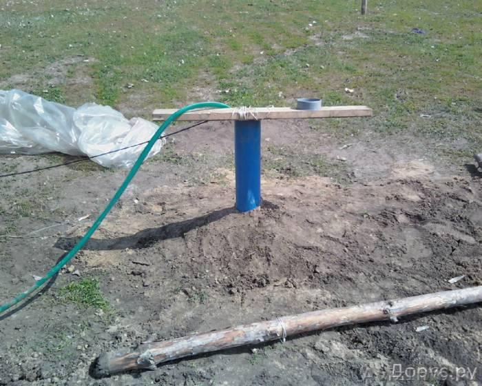 Скважина до 50 метров своими руками