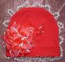 Роскошные шапочки с цветами, бантиками, бабочками от произв. ИП Царьков - Изображение #4, Объявление #770967