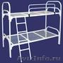 Двухъярусные железные кровати,  для казарм,  металлические кровати с ДСП спинкой